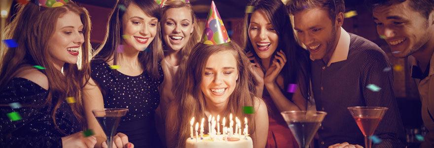 Organisation d'anniversaire pour adulte